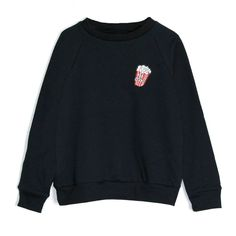 Unisex Popcorn sweatshirt (6-12yrs) Port 213 '17 lookbook   Boys Girls   3-14 years-Kids   Trendy + Unique kidswear $21.50