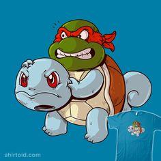 Turtle Power #alexsolis #alexmdc #film #gaming #movie #pokemon #raphael #squirtle #teenagemutantninjaturtles #tmnt #tvshow #videogame