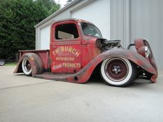 hotrod trucks!....hot rod running board so close to the ground...bea