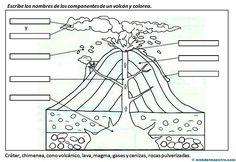 Los volcanes - Recursos educativos y material didáctico para niños/as de Infantil y Primaria. Descarga Los volcanes