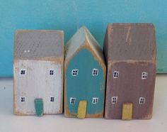 Large Wooden Houses