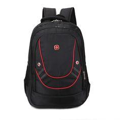 "17"" Inch  Men Women  Outdoor Climbing Hiking Laptop Backpack Travel Bags Notebook Mochila Hiking Student School Bags"