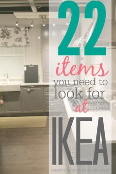 Just so I am not overwhelmed at IKEA here is a great list of 22 Items You Need To Look For At IKEA