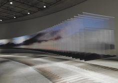 Nobuhiro Nakanishi - Transparent View (2011) Installation view, Aomori Contemporary Art Center