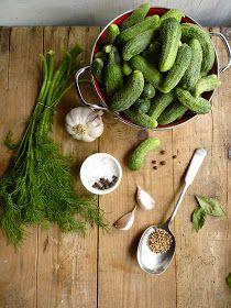 Almond Corner: Pickled Cucumbers