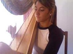 Stairway to Heaven on Harp - full version This young lady is amazing.