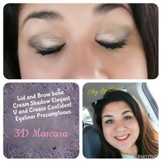 Love the new products! #creamshadow #lipstain #bronzer #mascara #Younique