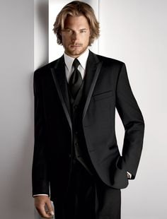 Would love for him to love this tux. Alas, he does not.