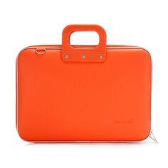 Bombata - Orange Classic 15.6' Laptop Case/Bag