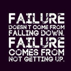 Quote of not giving up