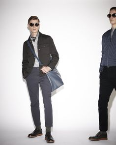 Flip through all the looks from the Louis Vuitton Men's 2013-2014 Pre-Collection and find your favorite.