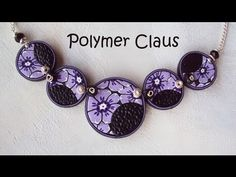 Part 1 - Flower disk necklace tutorial by MissiClaus. Nice project. Could use any veneers, not just flowers. Video in Italian but can be visually followed.