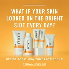 Ready to brighten your skin from years of sun damage or hormonal dark spots? Our REVERSE regimen will do just that. Say goodbye to freckles, melasma, pregnancy mask, and hello to brighter, more luminous skin. solch.myrandf.com