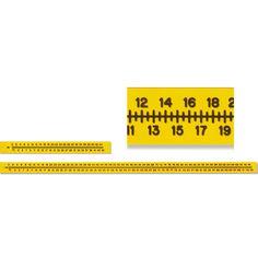 Flexible Plastic Radiopaque Extremity Rulers