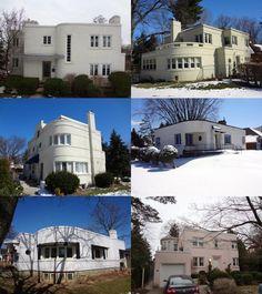 Art Moderne houses - Hale house