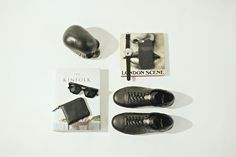 Sneakers: Saint Laurent Shades: Han Kjøbenhavn Watch: Triwa Wallet: COMME DesGarçons iPhone case: Lécimes