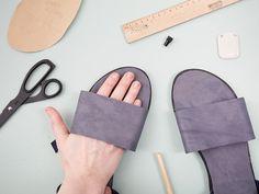 Tutoriales DIY: Cómo hacer unas sandalias de cuero vía DaWanda.com
