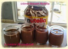 Je vous présente aujourd'hui une recette de crème dessert au Nutella. Un vrai régal, texture parfaite et goût du Nutella vraiment présent. J'ai trouvé cette recette sur l'espace recette thermomix. Ces crèmes dessert vont devenir un vrai classique chez...