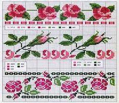 Resultado de imagen para bordados de flores grandes