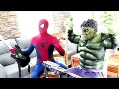 Spiderman vs Joker vs Hulk in Real Life! Spiderman & Hulk in Music Battle with Joker Superhero Movie Spiderman vs Joker vs Hulk in Real Life! Spiderman & Hulk in Music Battle with Joker Superhero Movie Spider-Man is a fictional superhero appearing in American comic books published by Marvel Comics existing in its shared universe. Spider-Man's creators gave him super strength and agility the ability to cling to most surfaces shoot spider-webs using wrist-mounted devices of his own invention…