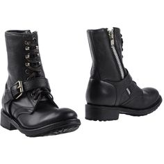 Ash Ankle Boots ($260) ❤ liked on Polyvore featuring shoes, boots, ankle booties, black, black leather bootie, black booties, short leather boots, ankle boots and leather ankle booties