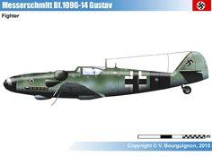 Messerschmitt Bf109G-14. 1944.