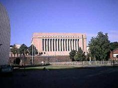 Parliament building in Helsinki