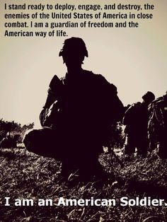 American Soldier #military #army