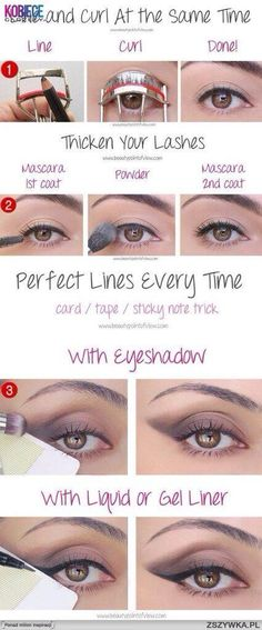 Make-up secrets and tips
