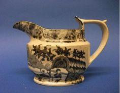 A Staffordshire Drabware Cream Jug, c.1805