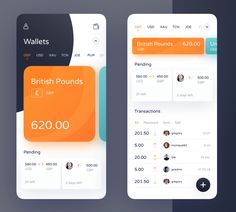 by Michał Jarosz - Blockchain - Ideas of Blockchain - ToucanPay App by Michał Jarosz Android App Design, Ios App Design, Mobile Web Design, Web Ui Design, Interface Design, Flat Design, App Design Inspiration, Mobile App Ui, Branding