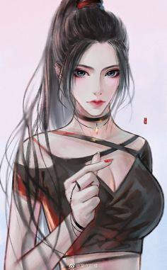 Kawaii Anime Girl, Cool Anime Girl, Pretty Anime Girl, Beautiful Anime Girl, Anime Art Girl, Anime Fantasy, Fantasy Girl, Anime Oc, Chica Anime Manga