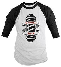 This t-shirt is perfect for any barber. The design features a typography that reads 'Barber Shop' in the pole of a vintage style barber shop. Makes a great gift idea for your favorite barber. This sty