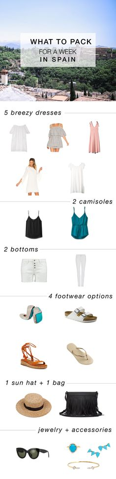 What to pack for Spain #packinglist #carryon #spain
