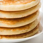 Use the Atkins recipe to make All Purpose Low-Carb Baking Mix for this recipe. Serve pancakes with sugar-free pancake syrup