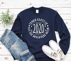 Senior 2021 sweatshirt, Class of 2021 sweatshirt, Senior shirt, Senior 2021 Shirt, Graduation Shirt, Class of 2022 shirts, Class of 2021 shirt, senior monogram, Senior 2021 shirts Graduation Shirts For Family, Senior Shirts, School Spirit Shirts, School Shirts, Teacher Shirts, Leavers Hoodies, Football Outfits, And So The Adventure Begins, Vinyl Shirts
