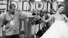 Alexander McQueen & Shalom Harlow