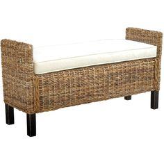 280 / Jeffan Gabrillo Wood Bedroom Bench   AllModern