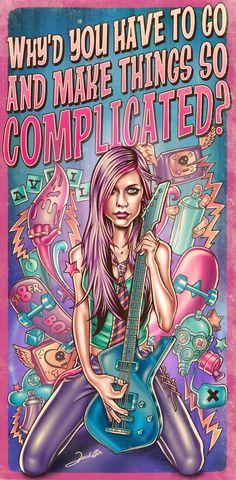 AvrilLavigne - Complicated  By RENATO ARTES