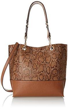 Calvin Klein 3 PH Novelty Tote Shoulder Bag, Caramel Snake, One Size Calvin Klein http://www.amazon.com/dp/B00VYEVMNU/ref=cm_sw_r_pi_dp_uZpSvb0Z9JF7A