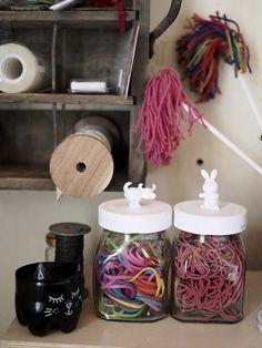DIY Animal jars - DIY piensäilytys. Hellyttävät eläinpurkit.