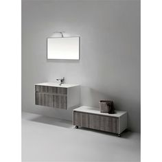 Shop for KubeBath Fitto 36-inch Ash Grey Single Sink Bathroom Vanity. Get free delivery at Overstock.com - Your Online Furniture Outlet Store! Get 5% in rewards with Club O!