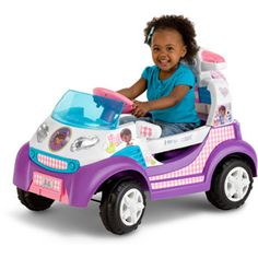 Disney Doc McStuffins Toy Rescue Ambulance 6V Battery Powered Ride-On I really need to get this asap!