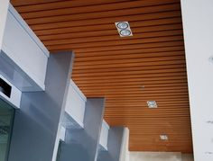 WOOD CEILINGS   Home » Offer » wpc eco-wood ceiling »WPC Eco-Wood Ceiling