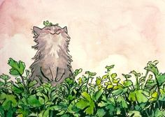 Ideas cats illustration watercolor kitty for 2019 Photo Chat, Watercolor Cat, Watercolor Ideas, Art Sculpture, Cat Drawing, Cute Illustration, Animal Drawings, Cat Art, Art Inspo