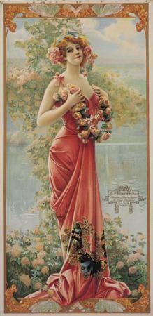 Enraptured rose, ca. 1904 - Gaspar Camps