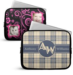 Protect your laptop or MacBook in style with custom laptop cases from Zazzle. Customized Gifts, Personalized Gifts, Nexus 10, Custom Laptop, Make Beauty, Custom Photo, Laptop Sleeves, Monogram, My Love