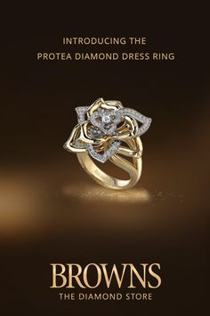 Protea Full Bloom Ring Price