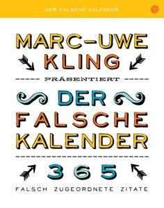 Der falsche Kalender (Marc-Uwe Kling)