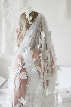 The Best Places To Buy Bridal Veils | OneFabDay.com Wedding Veils, Bridal Veils, Wedding Dresses, Short Veil, Old Hollywood Style, Lace Veils, Elegant Bride, Wedding Looks, Bridal Boutique